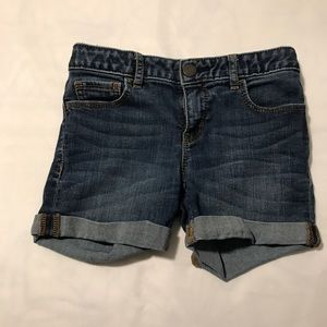 Girls Gap Jean Shorts